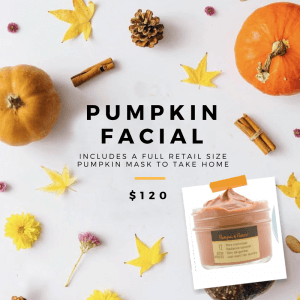 October facial special at Tampa Facial Skin care spa