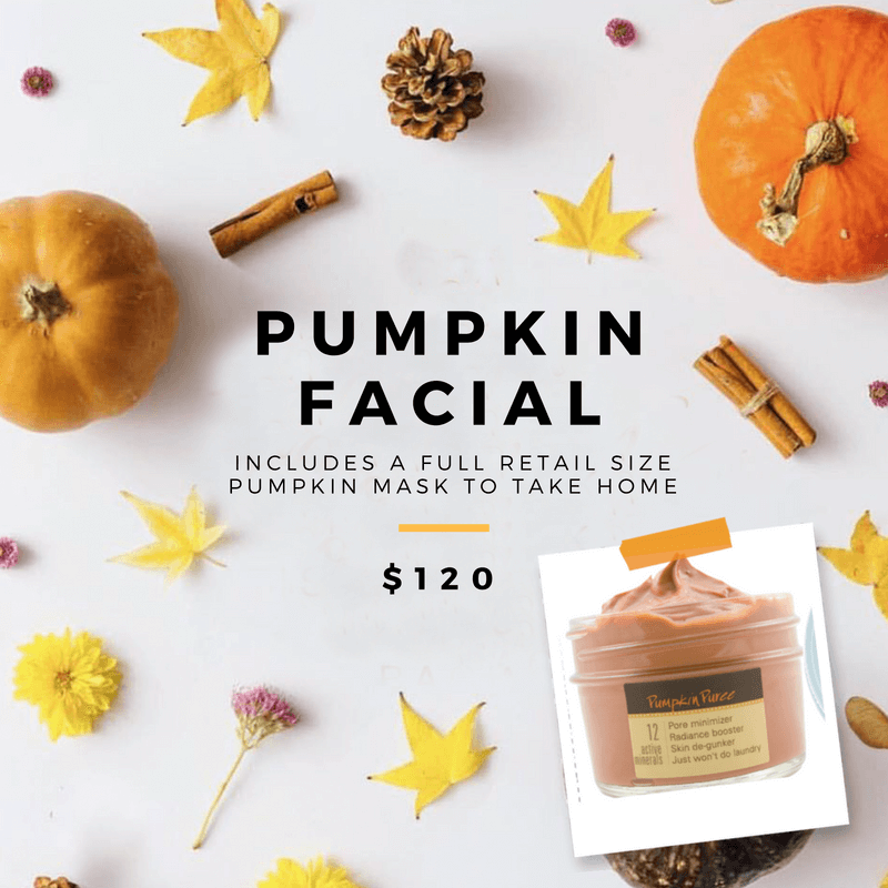 October facial special at Tampa Facial Skin care spa
