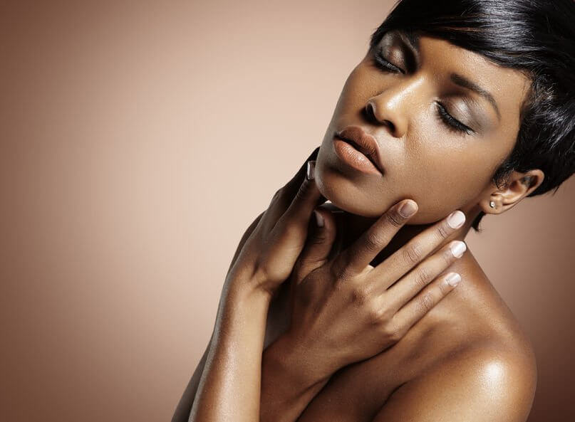 benefits of chemical peels for acne, ance scars, ingrown hair, pitting, and melasmaclear and even skin products for black women