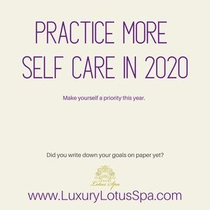 practice more self care in 2020