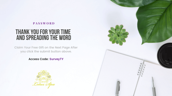 Customer Survey feedback review, SurveyTY, clear and even skin products for black women