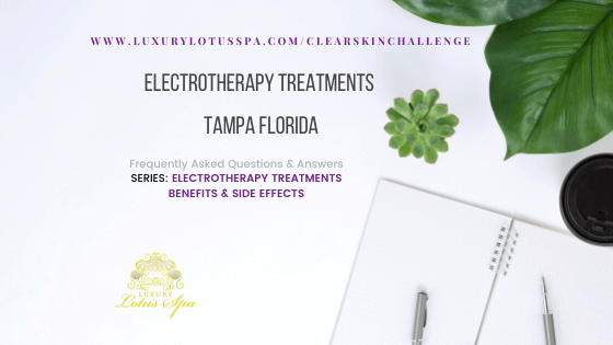 Electrotherapy Treatments Tampa Florida, clear and even skin products for black women