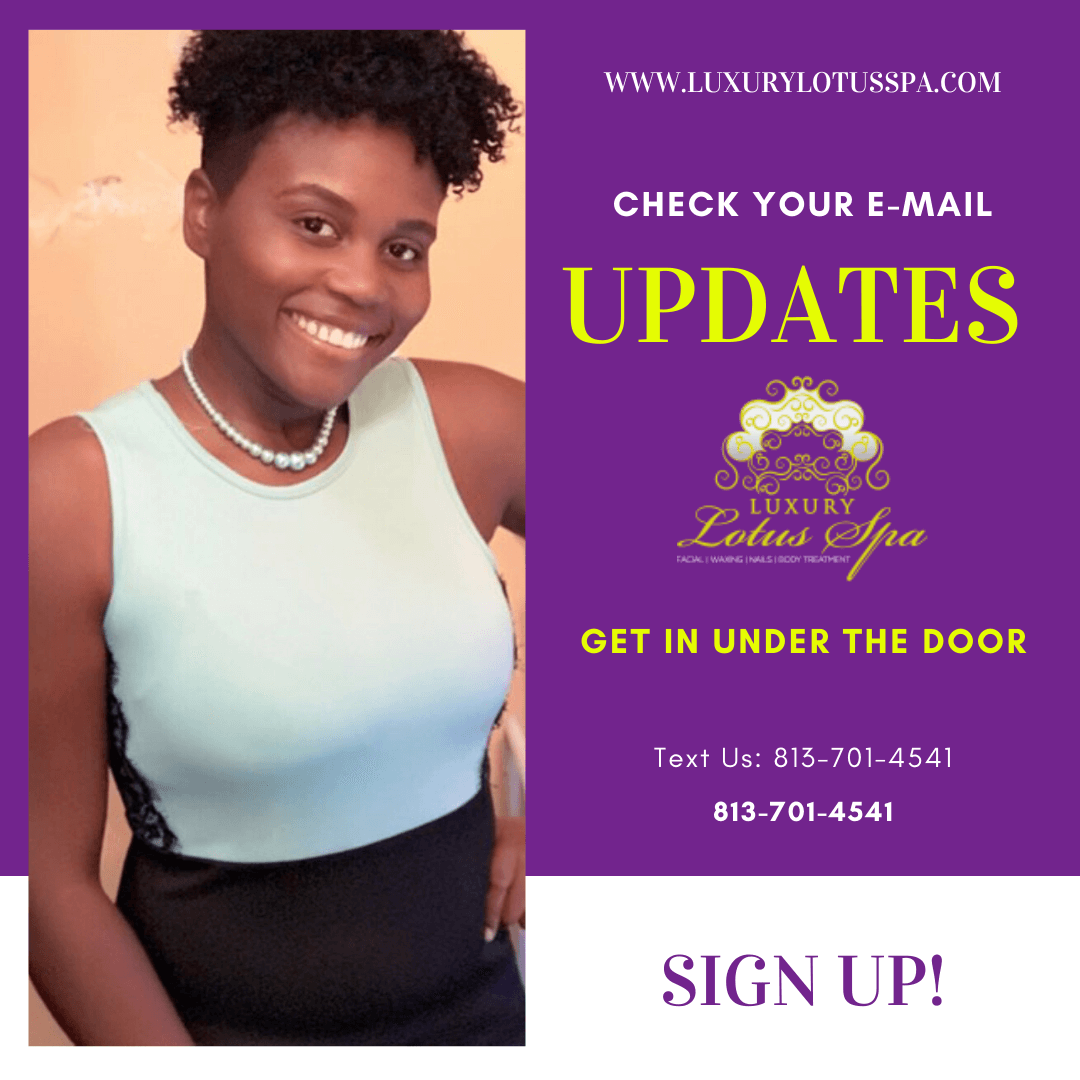 Esther the esthetician nelson best black esthetician in tampa florida Luxury Lotus Spa online store spa boutique helping melanin beauties clear up acne and acne scars naturally for men and women with darker skin tone african american hatian jamaican, afro latinas
